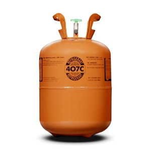 R407C Refrigerant, 25lb Cylinder, Disposable